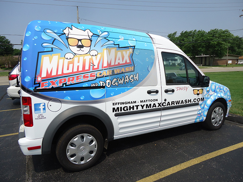 Mighty Max Service Van