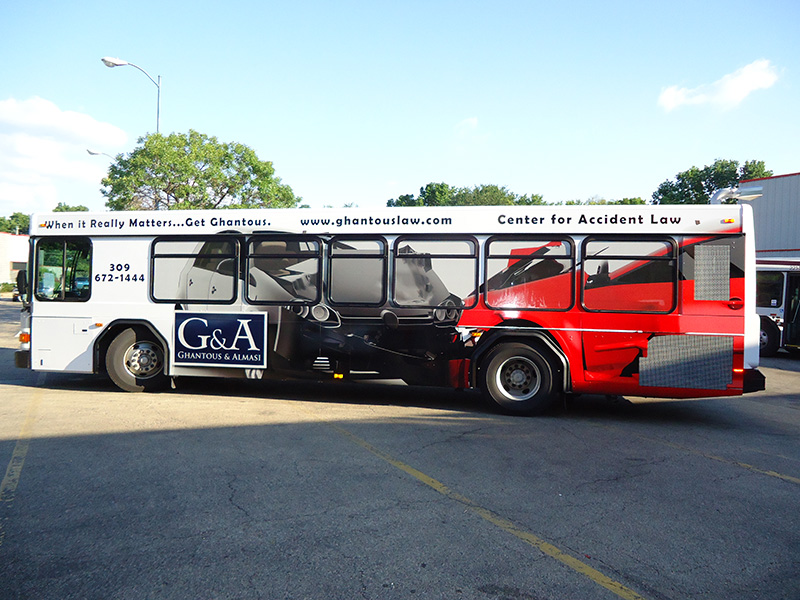 City Bus Wrap