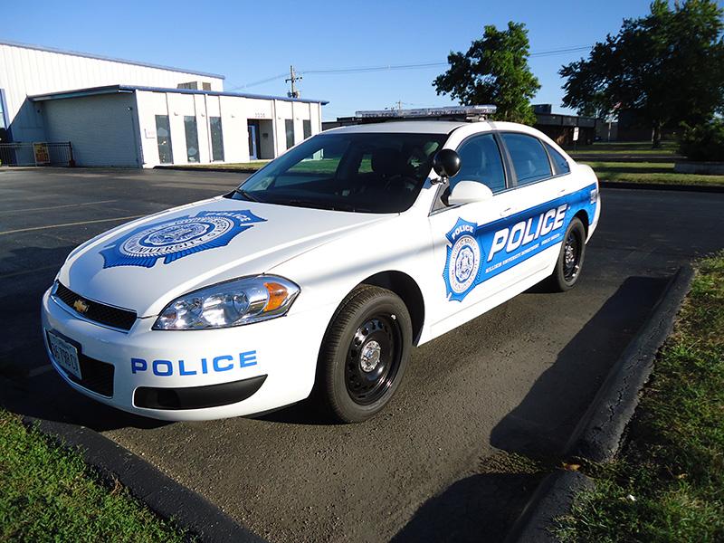 Millikin Police Car