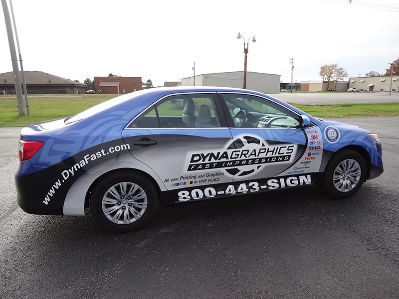 Dynagraphics Sales Car