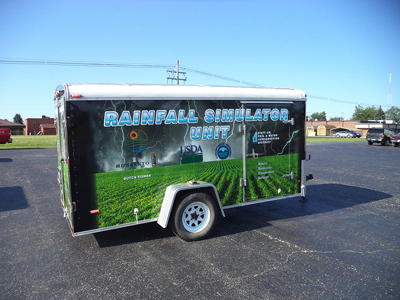 Piatt County Soil & Water Conservation Trailer