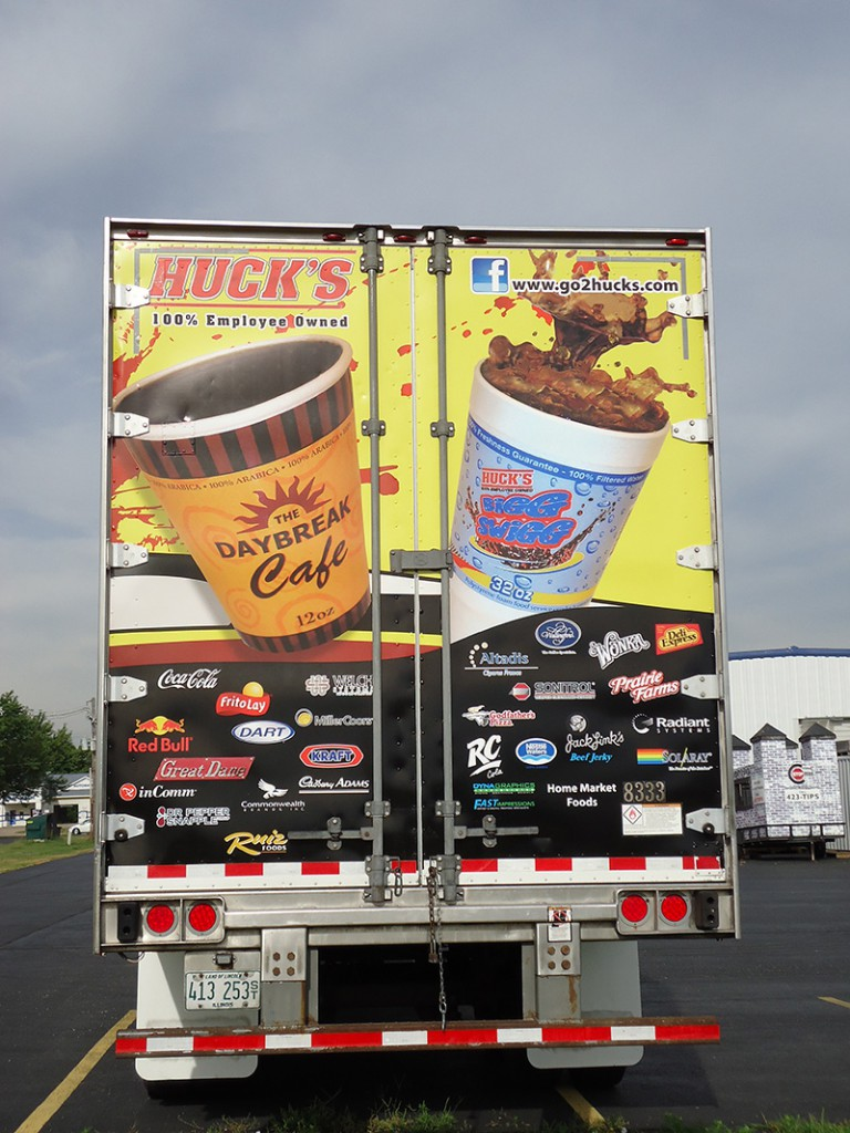 Huck's Semi Trailer