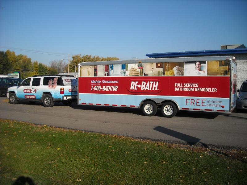 Illinois Re-Bath SUV-Trailer Combo