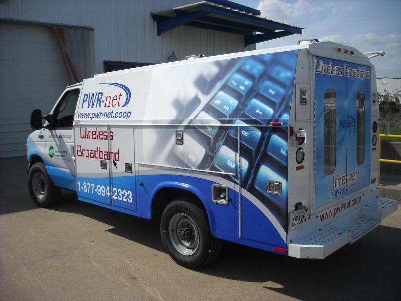 PWR-Net Service Van