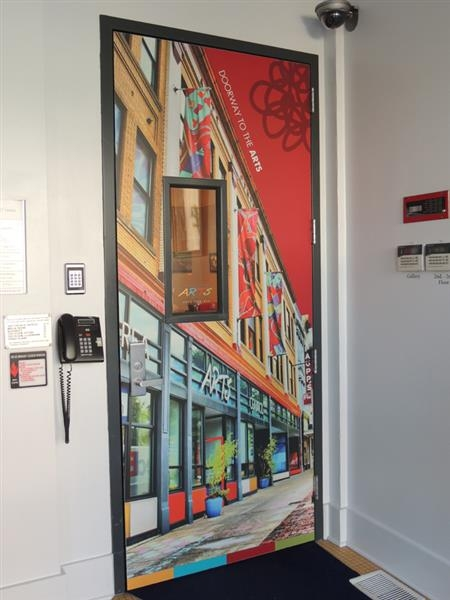 Arts Council Door