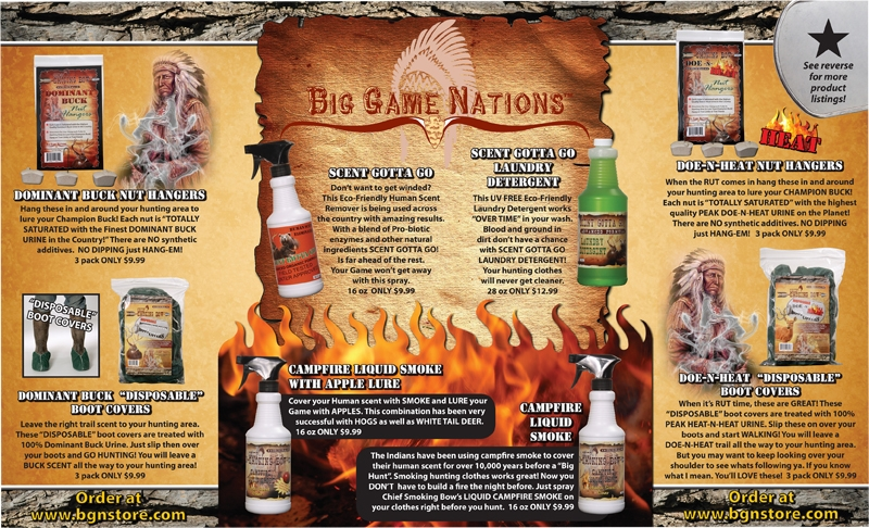 Big Game Nations brochure