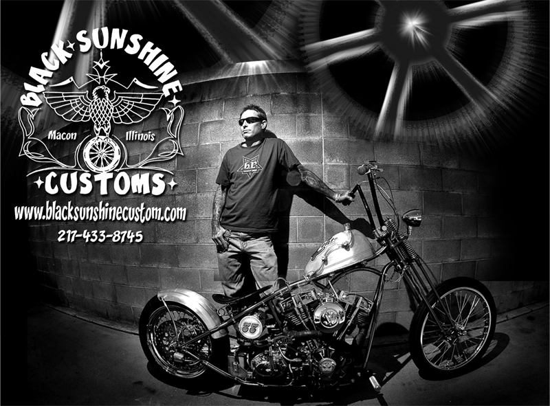 Black Sunshine Customs design