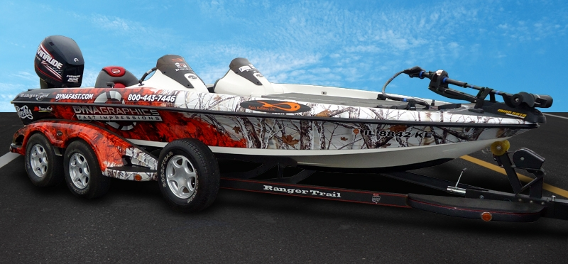 Bass Tracker Boat Decals Stickers – Air Media Design
