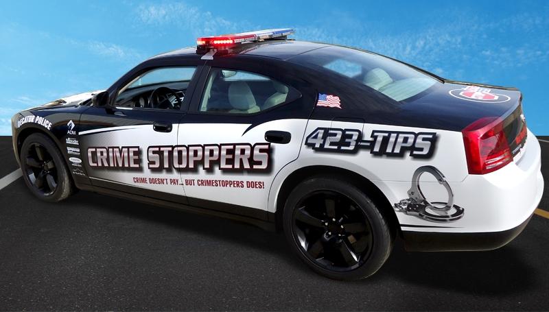 Crimestoppers Squad Car