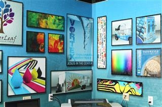 Dynagraphics Design Area Wall Graphics