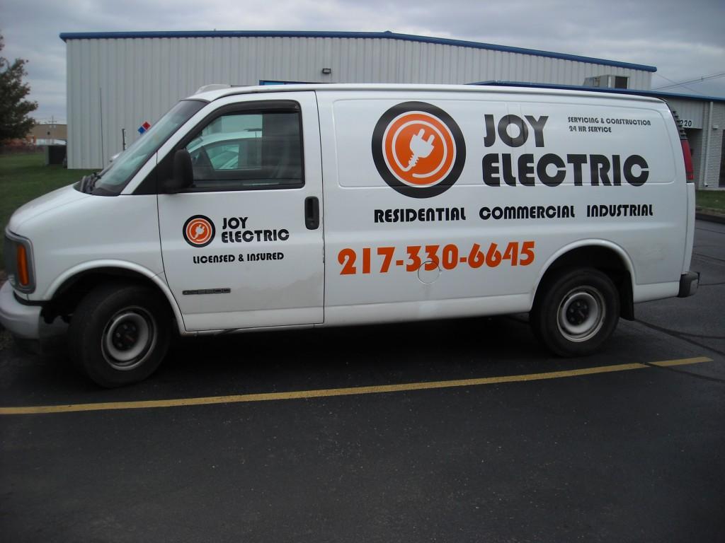 Joy Electric Service Van