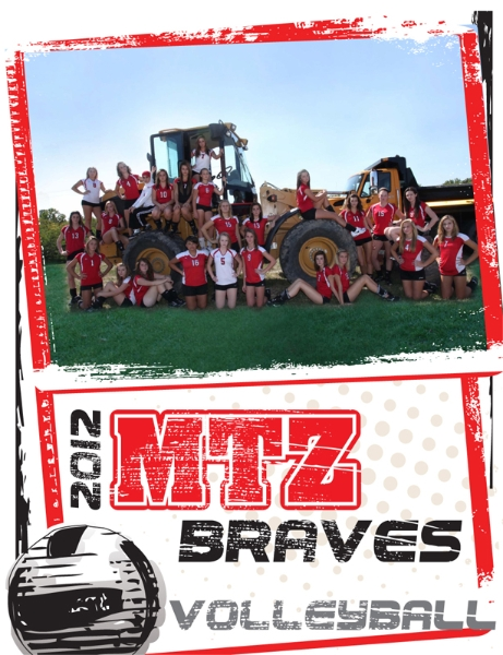 Mt. Zion athletics 2012 program cover design