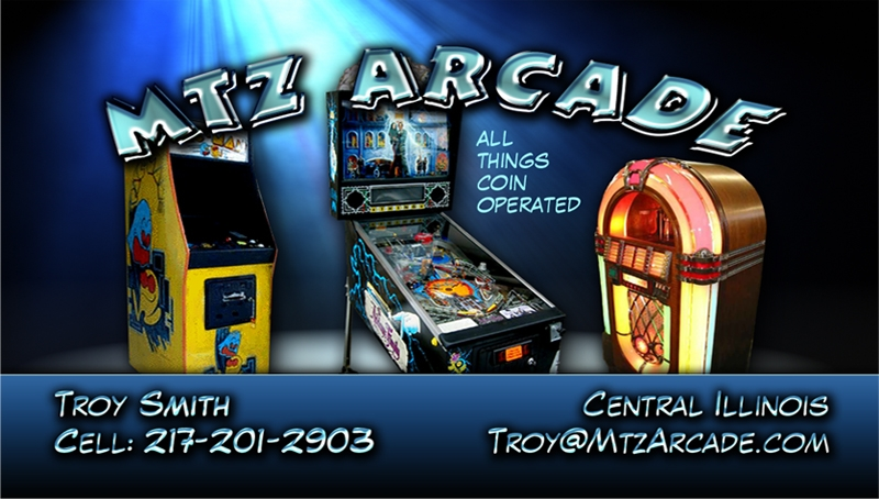 Mt. Zion Arcade business card design