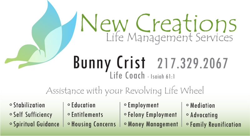 New Beginnings Church business card design
