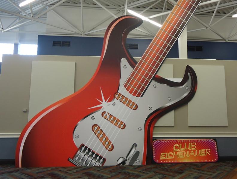 Richland CC Guitar Installation