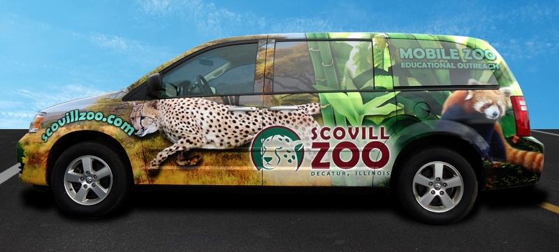 Scovill Zoo - Mobile Zoo Van